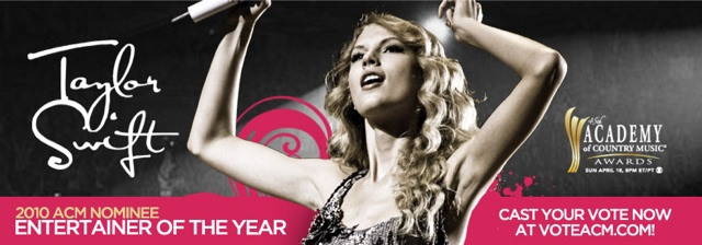 Vote for Taylor Swift