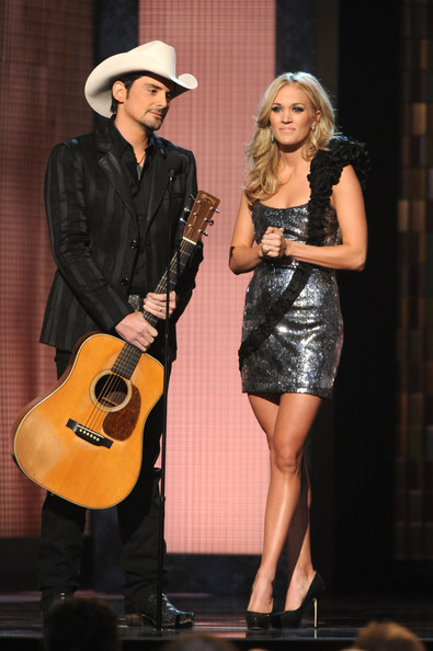 Brad Paisley and Carrie Underwood