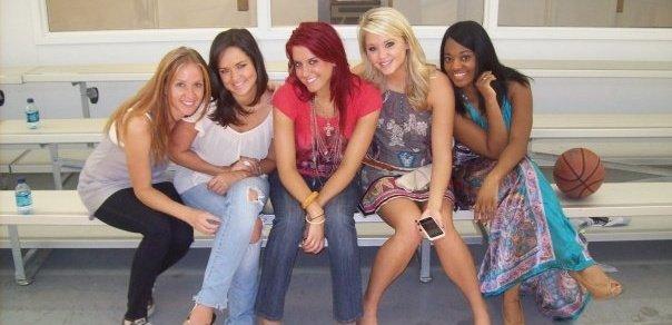 The girls of Team Swift