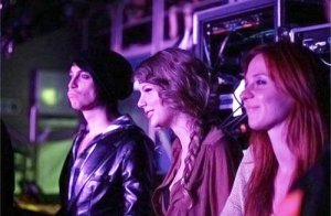 Grant, Taylor and Caitlin at Katy Perry's concert