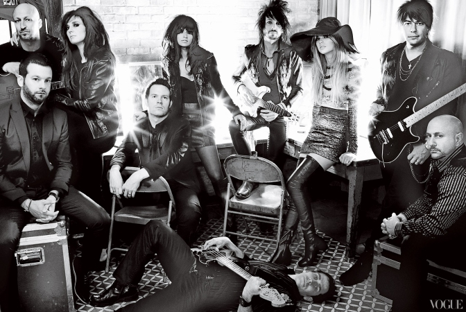 The Agency on Vogue