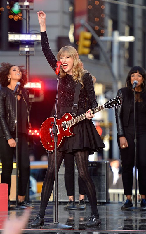 Good Morning America Performances : Red release week taylor swift performs on good morning