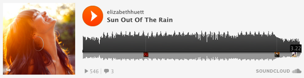 Elizabeth Huett - Sun Out Of The Rain