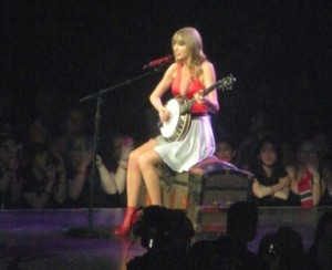 Taylor Swift performs at the Verizon Center in Washington DC on May 11, 2013
