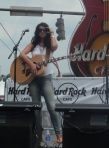 Mallary Hope at Hard Rock Cafe for CMA Fest 2013-06-07