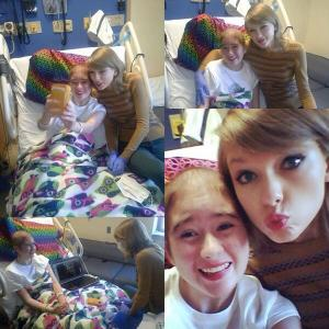 @taylorswift13 thank you for visiting my friend today and making her so happy :) you're truly amazing pic.twitter.com/lc98XxWrne