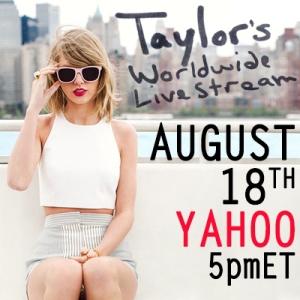 Taylor's Worldwide Livestream