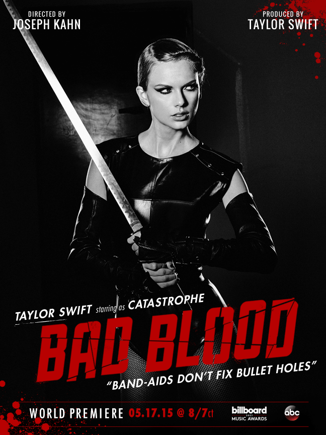 Now we got Bad Blood: ... Taylor Swift Songs 2016