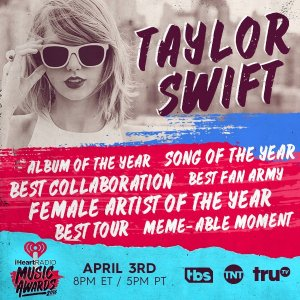 News Update: Taylor to accept Best Tour award at iHeartRadio
