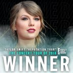 People's Choice Awards 2018: Taylor's rep tour wins Tour of the Year