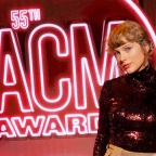 "55th ACM Awards: Taylor Swift performs ""betty"" live!"