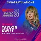 Weekly News Update: Lover wins Pop Album of the Year at the 2020 iHeartRadio Music Awards